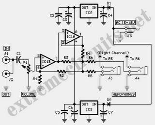 modular headphone amplifier electr nica pinterest circuits rh pinterest com