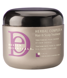 Design Essentials Herbal Complex 4 Hair Scalp Treatment Is A