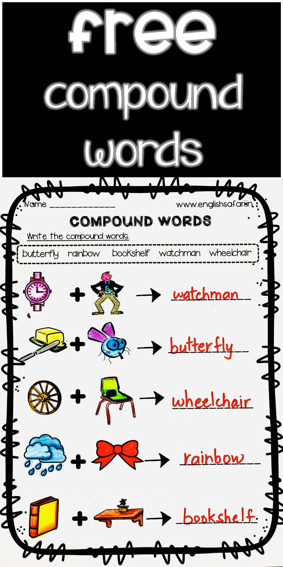 Compound Words Worksheets Free Www Worksheetsenglish Com Compound Words Compound Words Worksheets Words [ 2249 x 1125 Pixel ]