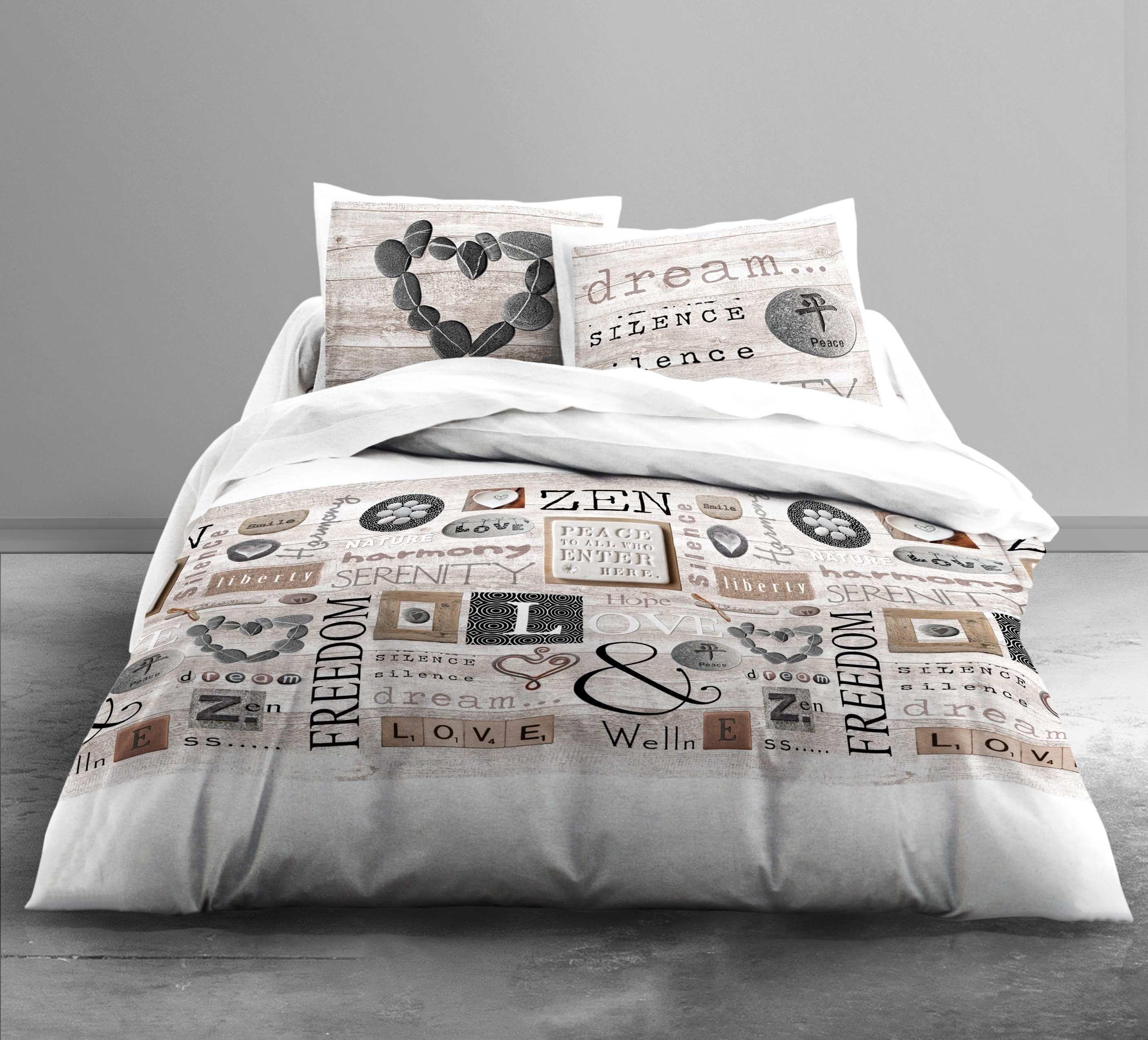 Housse De Couette One Piece Housse De Couette One Piece Housse De Couette La Pagnie Du Blanc La Pagnie Du Blanc Vous Presente Le Model Bed Duvet Covers Duvet