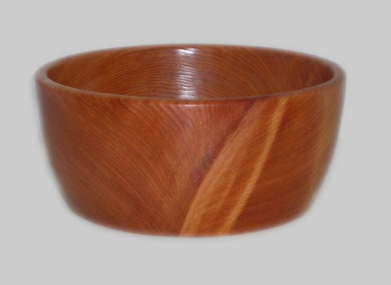 Redwood Salad Bowl 403 by MonteSatern on Etsy, $40.00