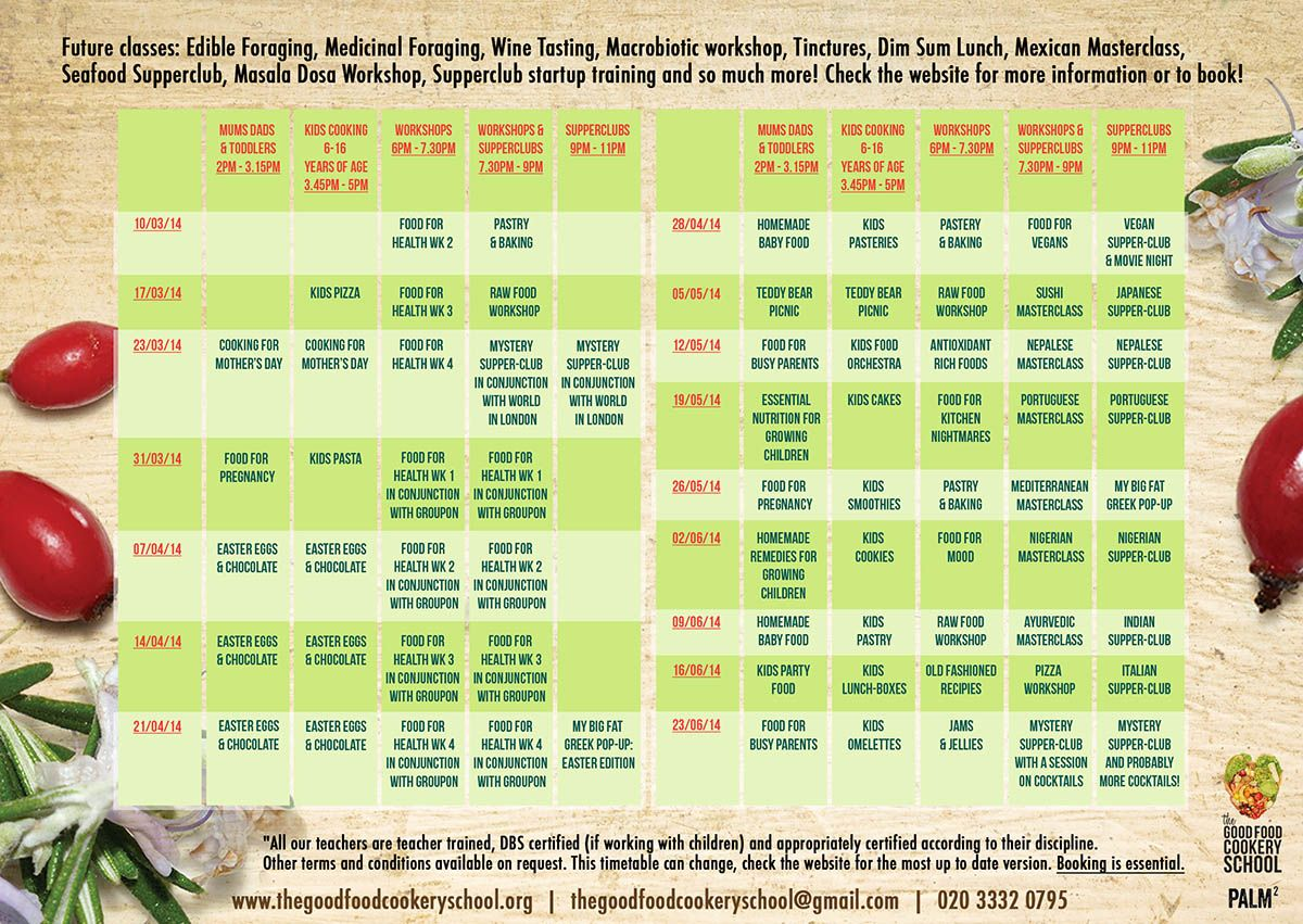 Check Out Our New Timetable Places Filling Fast  Off If You