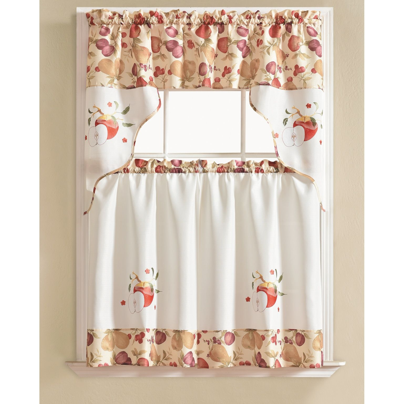 Overstock Com Online Shopping Bedding Furniture Electronics Jewelry Clothing More Kitchen Curtains Kitchen Curtains And Valances Kitchen Curtain Sets