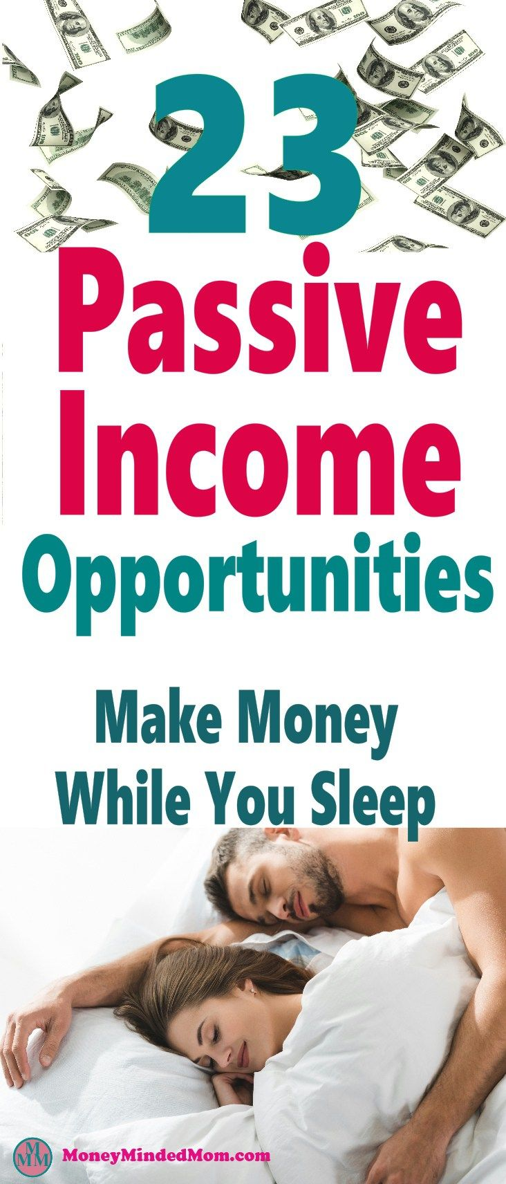 23 Passive Income Ideas To Make Easy Money While You Sleep Med Billeder Penge