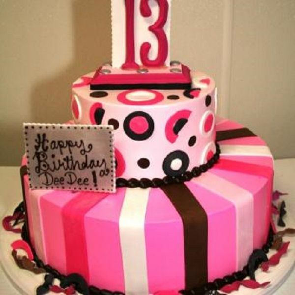 I love this cake, kind of simple, but might be perfect for ...