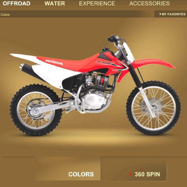 Honda 4 Stroke Crf150 Soon Honda Dirt Bike Honda Bikes Honda