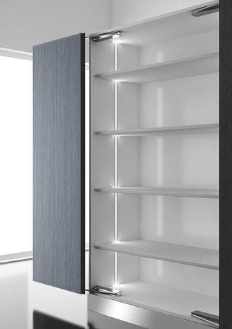 Domus Line S Diva Is A Linear Recessed Profile With Symmetrical