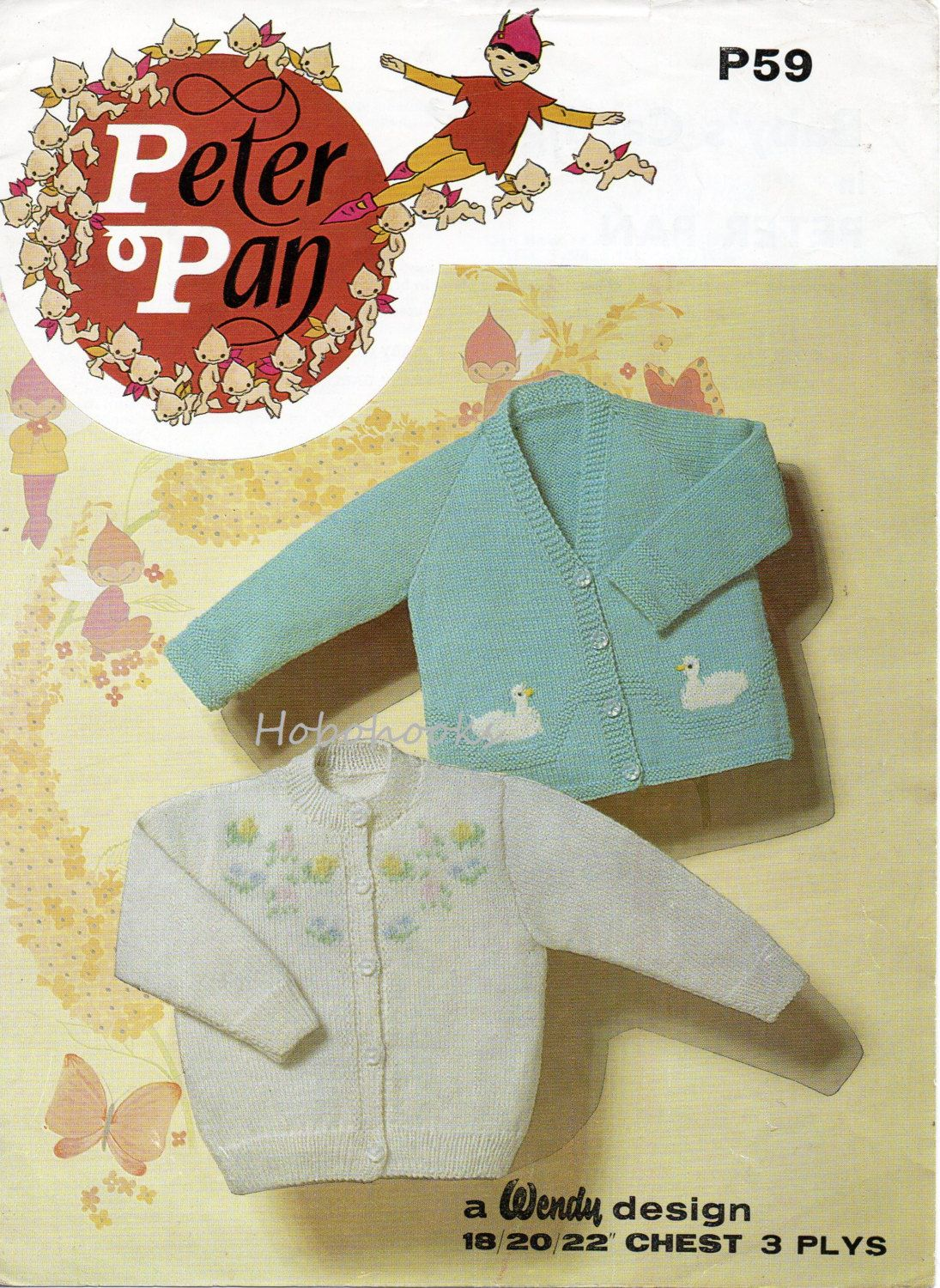 Baby knitting pattern baby cardigans toddler cardigans embroidered baby knitting pattern baby cardigans toddler cardigans embroidered flowers duck motif 3 ply cardigans 18 bankloansurffo Gallery