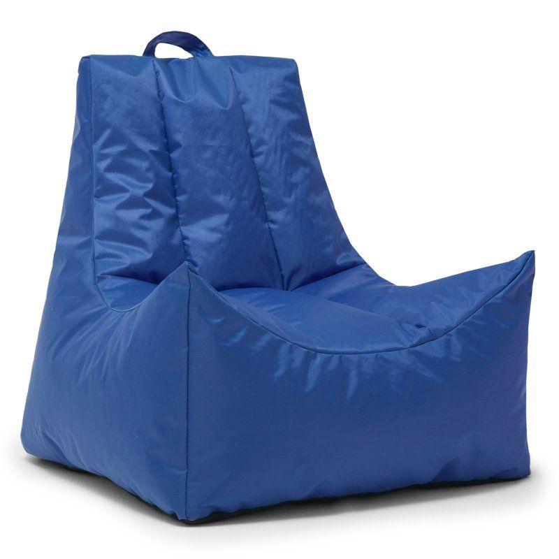 Remarkable Big Joe Scoop Bean Bag Chair Sapphire 664614 Products Ibusinesslaw Wood Chair Design Ideas Ibusinesslaworg