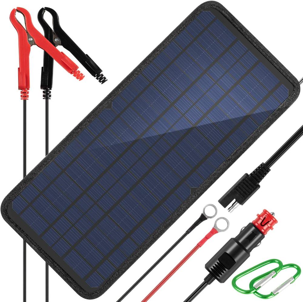 Amazon Com Kingsolar 10w 12v Solar Car Battery Charger 12 Volts Solar Trickle Charger Solar Panel Battery Maintai Solar Panel Battery Car Battery Solar Car