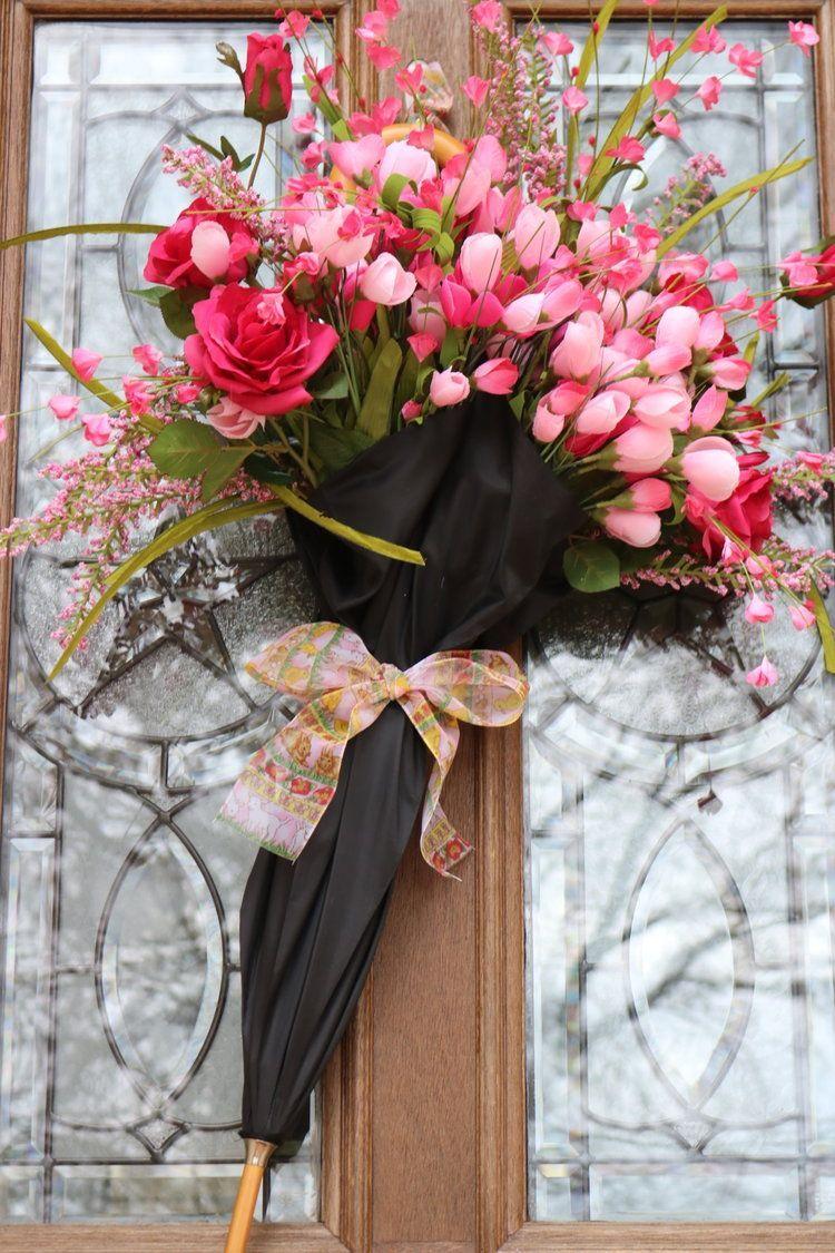 Adorning my door for Spring — Welcoming HOME - Best WohnKultur Blog