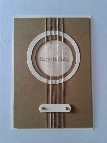 Geburtstagskarte Gitarre Su Biglietti Compleanno Fai Da Te Idee