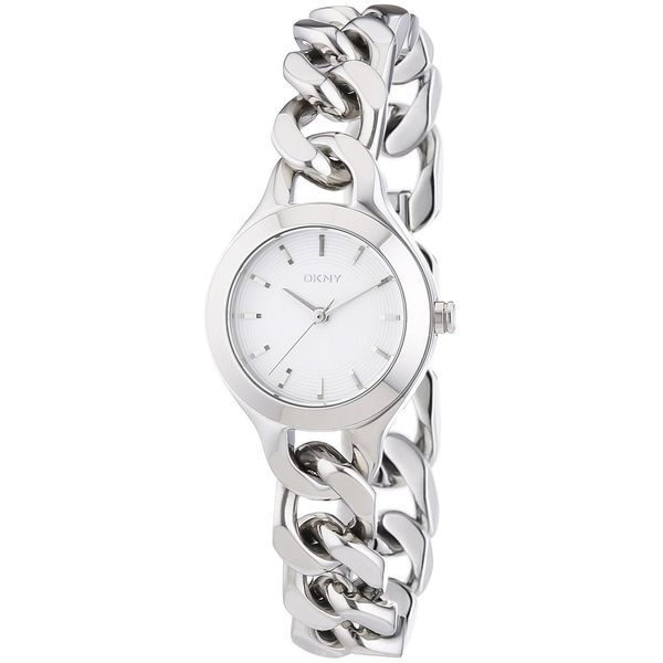 124 DKNY Women's NY2212 'Chambers' Silver Stainless steel Watch