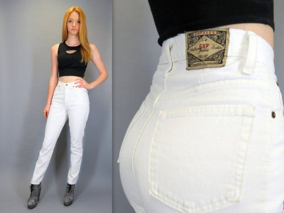 Vintage 90s high waisted jeans