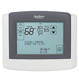 Research Products 8800 Touch Screen Thermostat By Aprilaire