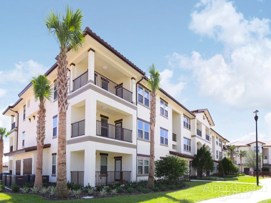 Apartment Of The Week Relax Under The Palms At Citra At Windermere This Community Near Sunny Orland Florida Apartments Amazing Apartments Resort Style Pool