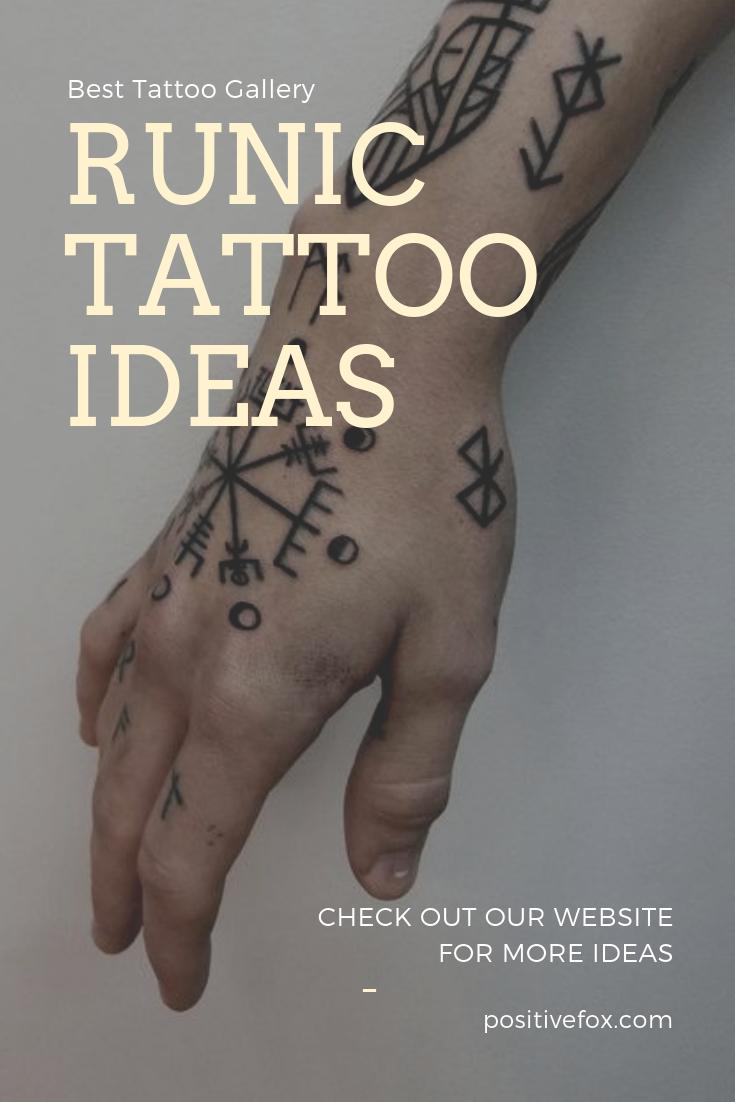 , Runic Tattoo Ideas #vikingtattoos #runictattoos #nordictattoos, My Tattoo Blog 2020, My Tattoo Blog 2020