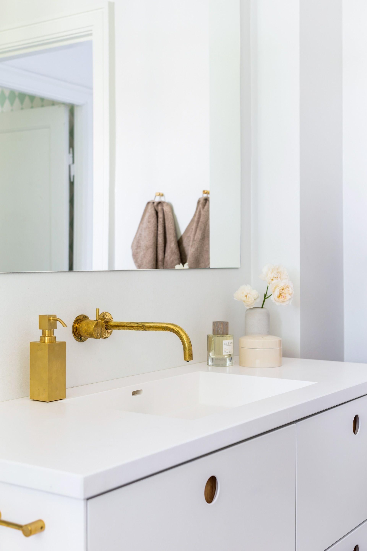Inspiration: Bathroom in Hellerup, Denmark  Small bathroom decor
