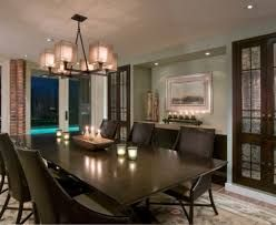 linear dining room chandeliers bright chandelier fashion miami contemporary images