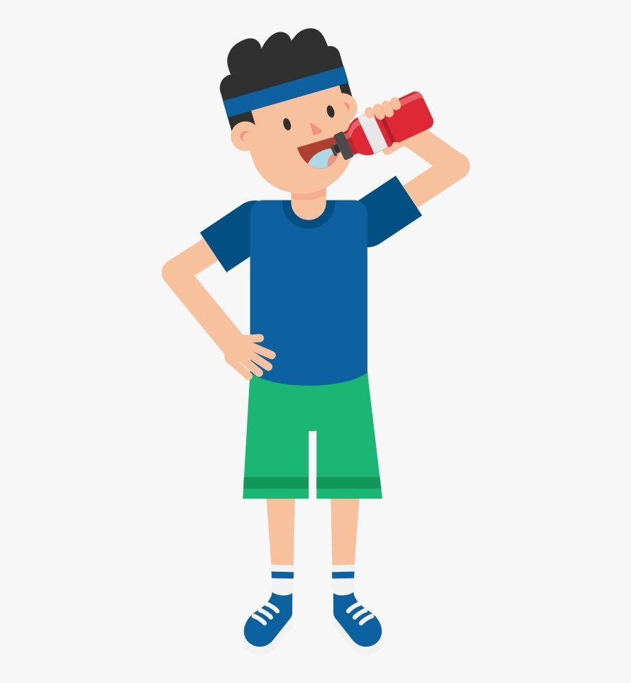 Drink Water Clipart Clip Art Cartoon Kids Water Illustration
