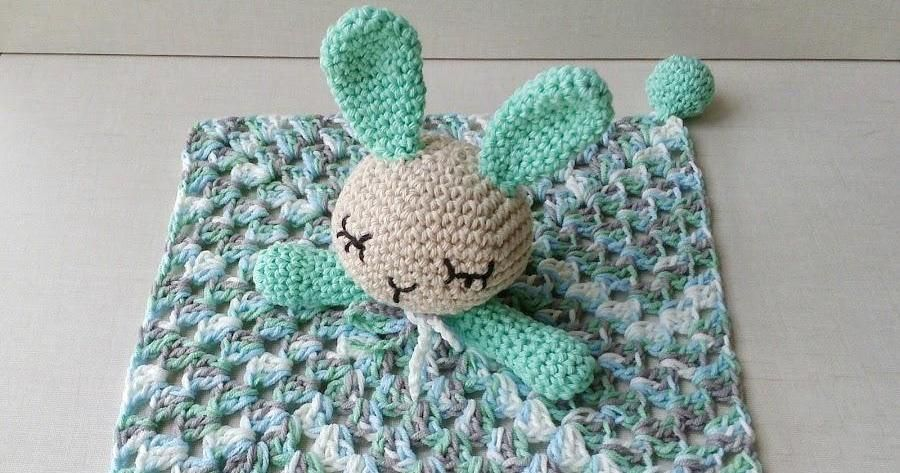 Manta de apego crochet, ¡tutorial! | Manta, Conejo y Perfecta