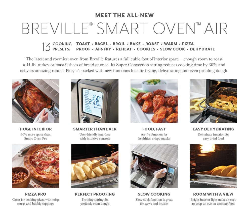 Breville Smart Oven Air Cooking, Fun cooking, Air recipe