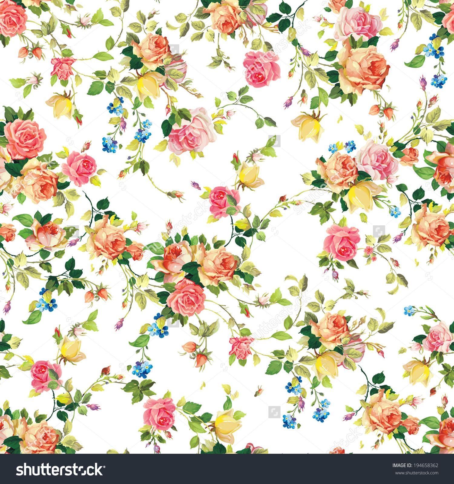 Vintage Flower Patterns