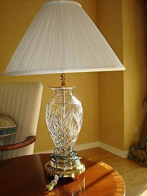 Waterford Crystal Lamps Set Of Two Large Although Mine Are