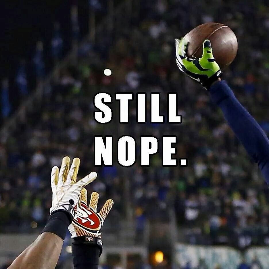 Still Nope Seattle Seahawks Football Baby Seahawks