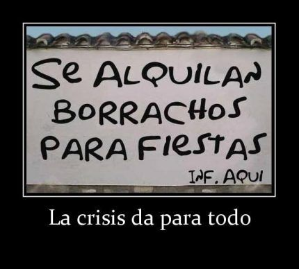 Imagenes lindas para compartir. La crisis da para todo - http://www.fotosbonitaseincreibles.com/imagenes-lindas-compartir-la-crisis-da/