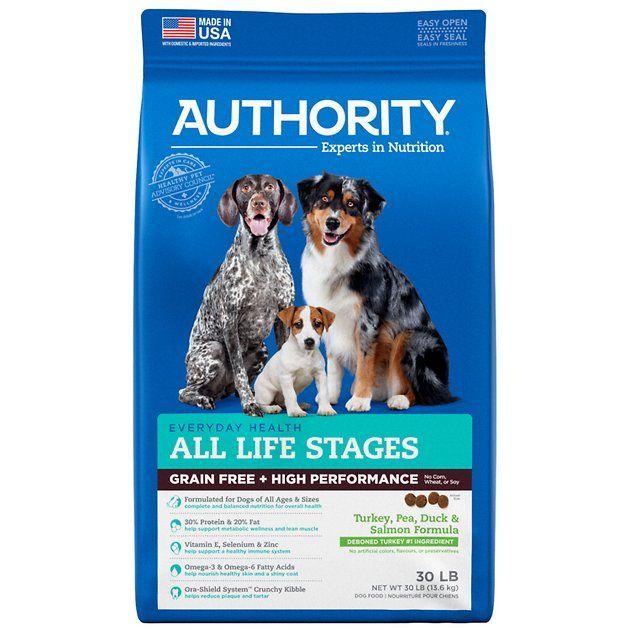 Buy Authority Turkey Pea Duck Salmon Formula Grain Free High