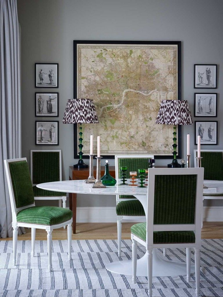 Best A London Pied A Terre By Ben Pentreath Dining Room 400 x 300