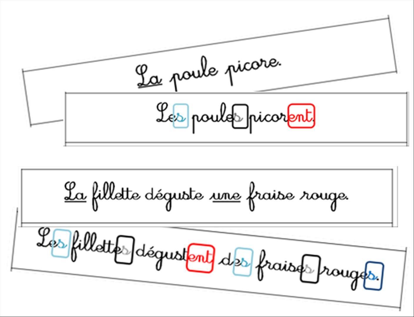 Nouvel atelier : l'accord dans la phrase | Atelier