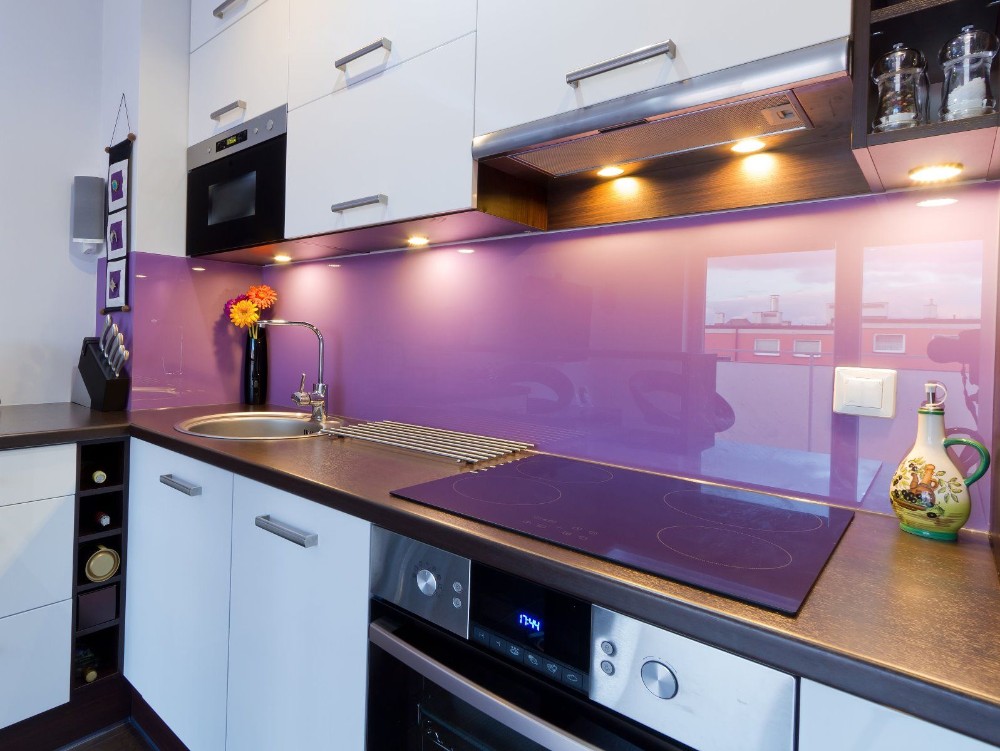 Coloured Glass Splashbacks in 2020 (With images