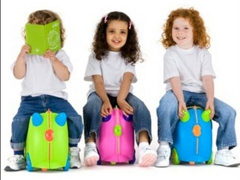 Trunki - Ride on Suitcase. You can pull your kid through the ...