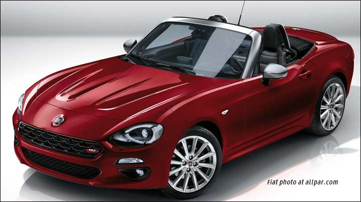 fiat 124 spider - Google Search