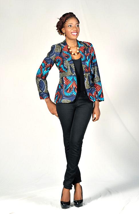 26b0906582 Love the #Ankara Blazer! ~Latest African Fashion, African women dresses,  African Prints, African clothing jackets, African men's fashion, children's  fashion ...