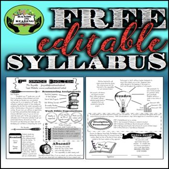 Syllabus Free Editable Maths Syllabus High School Syllabus Syllabus