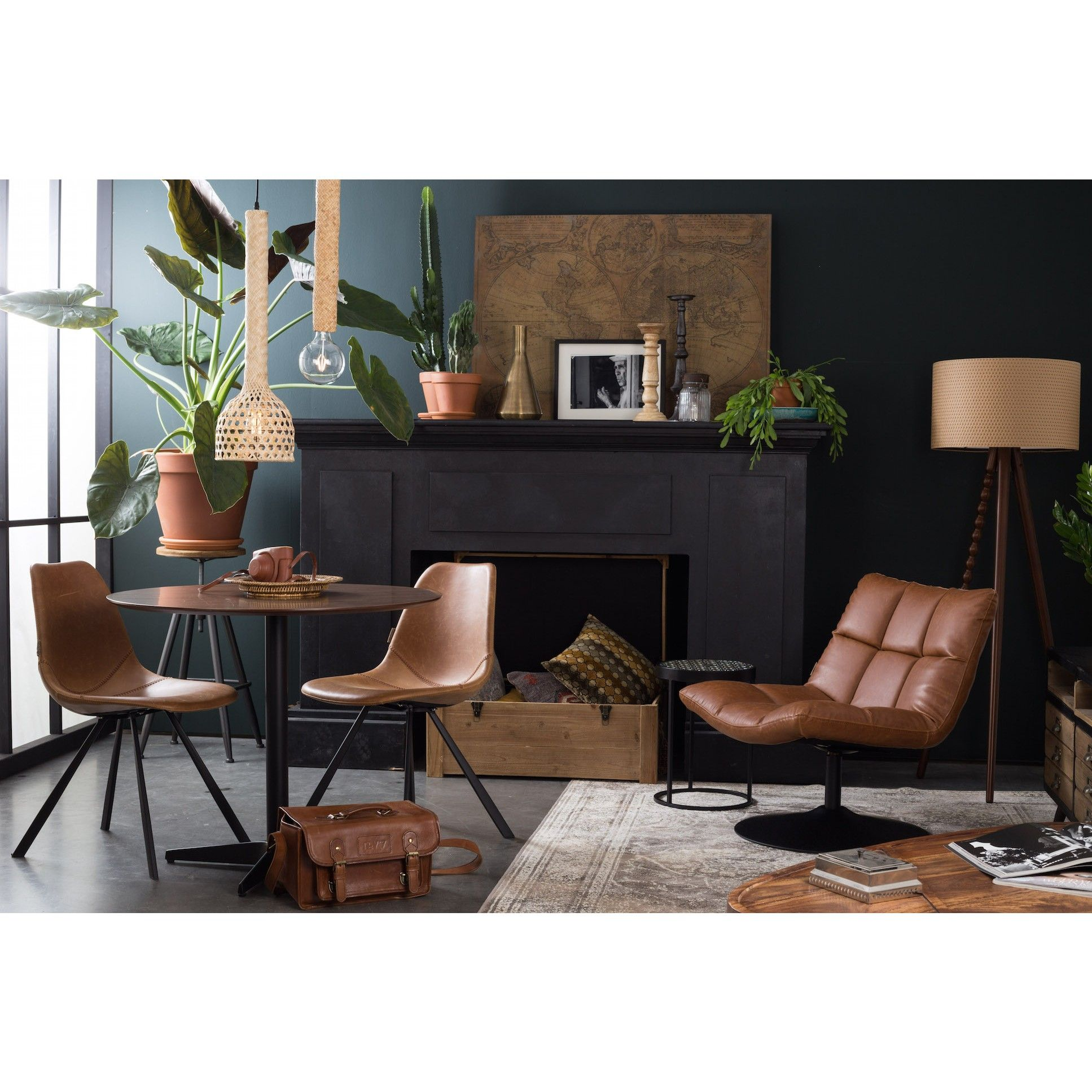 Dutchbone Bar Lounge stoel - Fauteuils - Stoelen - Woonkamer ...