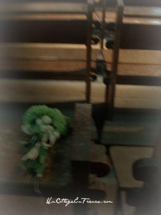 Petit bouquet trouvé dans la collégiale  du Dorat - Little bouquet found in the church of le Dorat