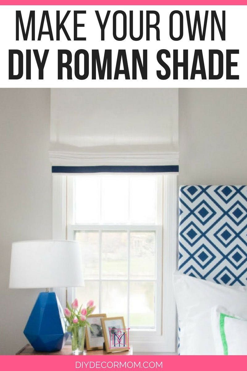Diy Roman Shades Easy Learn How To Make Roman Shade Yourself In This Diy Roman Shade