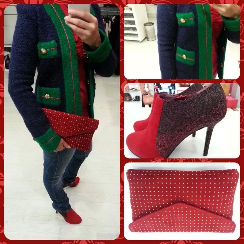 Conbinamos rojo y verde @Siempreesviernes