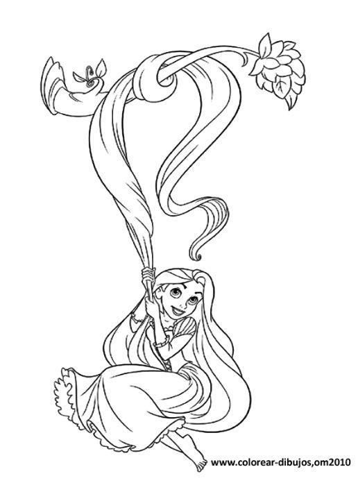 - Tangled Coloring Pages Tangled Coloring Pages, Rapunzel Coloring Pages,  Disney Princess Coloring Pages