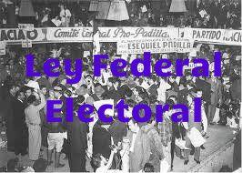 Ley federal electoral