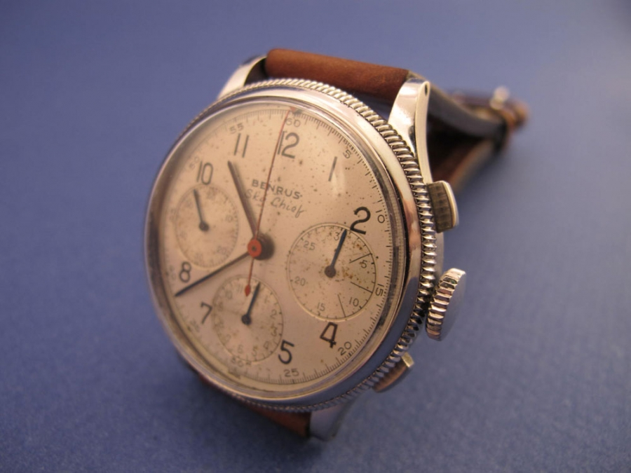Benrus Sky Chief Pilot chrono 60's