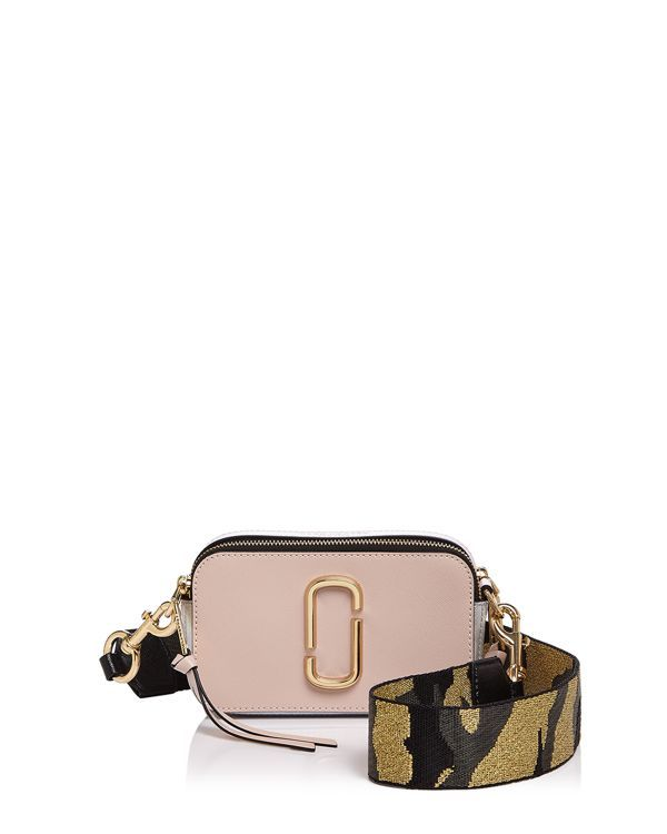 1275a2fa6 Marc Jacobs Snapshot Camo Strap Color Block Leather Camera Bag ...