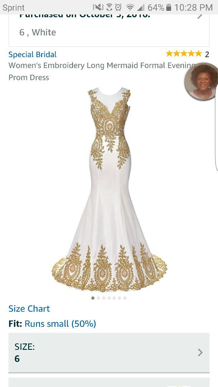 Gold victorian dress