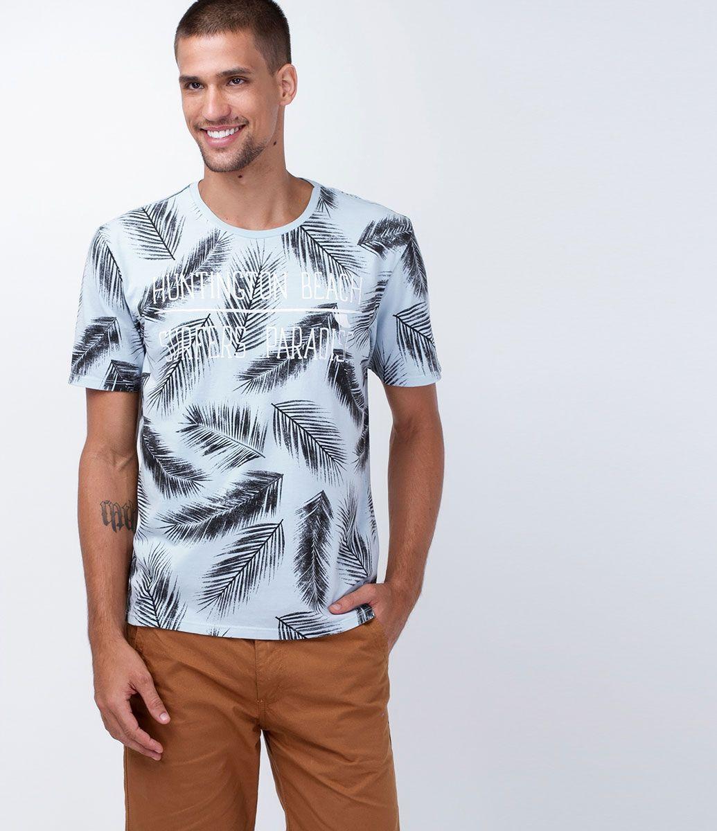 Camiseta masculina Manga curta Gola redonda Estampada Marca  Ripping  Tecido  meia malha Composição  100% algodão Modelo veste tamanho  M COLEÇÃO  VERÃO 2016 ... 32b5e65a45a69