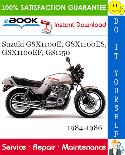 Suzuki GSX1100E, GSX1100ES, GSX1100EF, GS1150 Motorcycle ... on