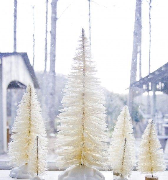 Craftiness Diy Bottle Brush Christmas Trees Bottle Brush Christmas Trees Diy Bottle Christmas Diy